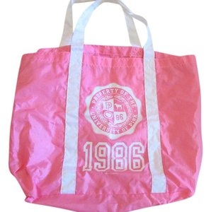 Victoria's Secret Bright Pink Beach Bag