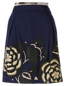 Anthropologie Skirt navy