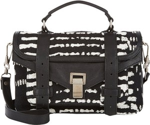 Proenza Schouler Satchel in black white