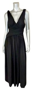 Vera Wang Matte Jersey Ruched Dress