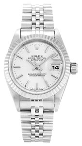 Rolex ROLEX DATEJUST 69174 STAINLESS STEEL SILVER DIAL LADIES WATCH