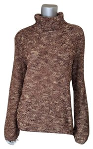 St. John Bronze Slub Knit Sweater