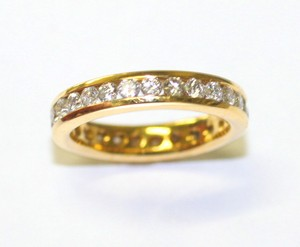 Comfort-fit Diamond Eternity Band