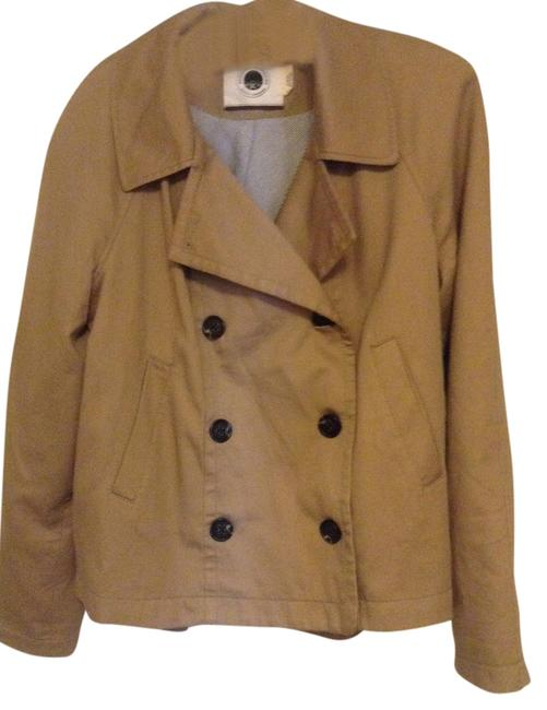 Item - Khaki Daughters Of The Liberation Pea/Trench Swing Coat/Jacket Coat Size 14 (L)