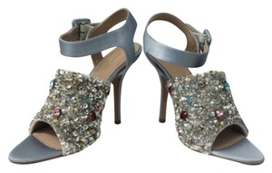 Céline Silver blue Pumps