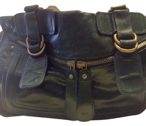 Chloé Satchel in Forest Green