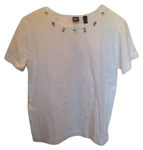 Gap Fruit T Shirt White