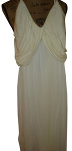 CREAM Maxi Dress by Ritmo di Perla Stretchy Fitted