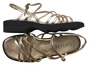 Amalfi Metallic gold Sandals