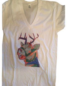 Brand new without tags American Apparel hand design tee shirt T Shirt