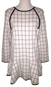 Paul & Alice short dress Ivory Check Vince Madewell on Tradesy
