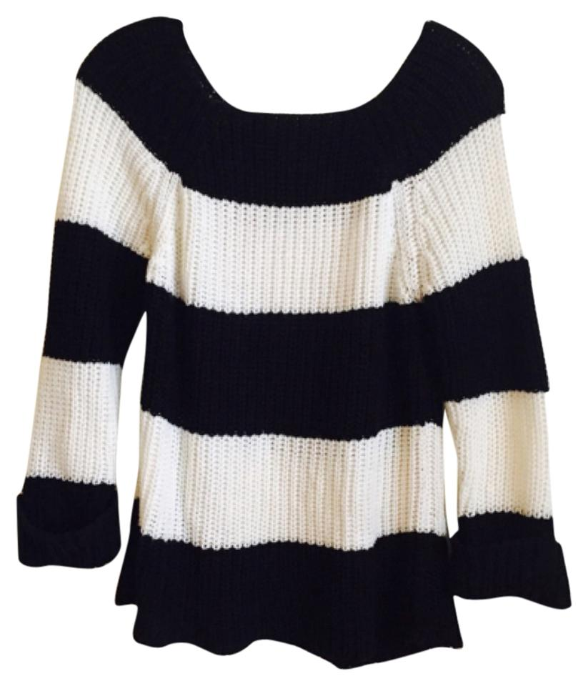 eab5605ef5 Derek Heart Black and White Sweater - Tradesy