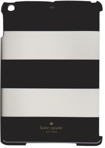 Kate Spade Kate Spade Snap-on Hardshell Black and White Stripe iPad Air Case Cover