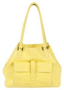 Loro Piana Medium Satchel in Yellow