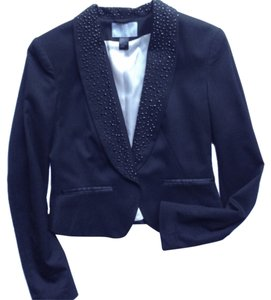 H&M Jacket Glam Detail BLACK Blazer