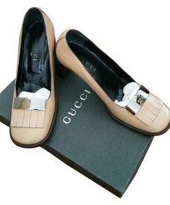 Gucci Marmont Nude Light Bronze (Light Beige) Pumps