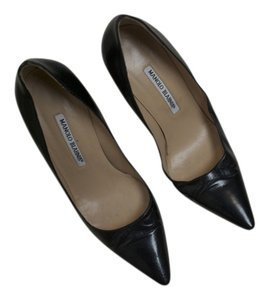 Manolo Blahnik Sexandthecity Black Pumps