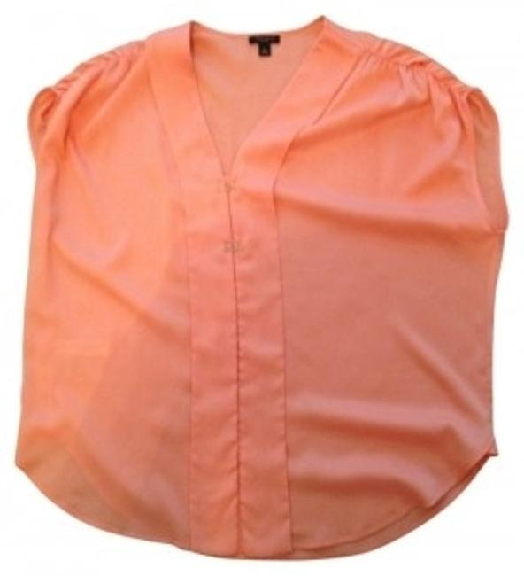 Preload https://img-static.tradesy.com/item/6354/ann-taylor-peach-silky-drop-shoulder-with-gold-decorative-hooks-blouse-size-6-s-0-0-650-650.jpg