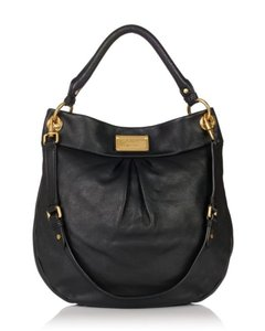 Marc by Marc Jacobs Classic Q Hillier Leather Hobo Bag