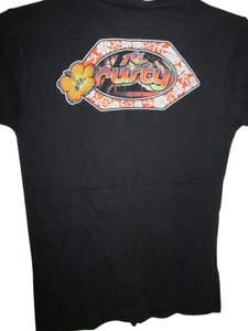 Rusty New Xl T Shirt Black