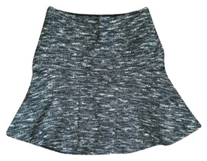 J.Crew Tweed Mini Skirt Blac