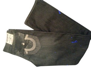 True Religion Straight Leg Jeans-Dark Rinse