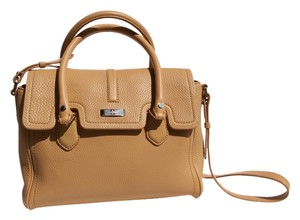 Cole Haan Leather Tote in sand