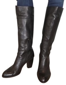 Franco Sarto Knee Hight Tall Black Boots