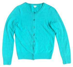 J.Crew Teal Tippi Work Wear Sweater