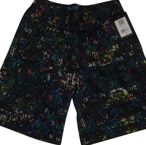 Derek Lam Dress Shorts Midnight shade multi color