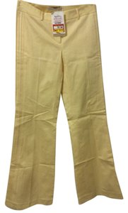 Susana Monaco Flare Pants Light yellow