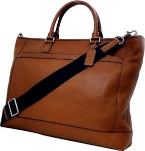 Coach Men's Father's Day Tote in Classic Tobacco/Saddle