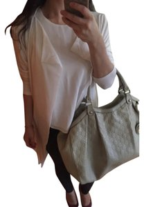 Calvin Klein Zara Banana Republic Jcrew White Drappy Loose Fitting Drop Waist Dkny Burberry Cardigan