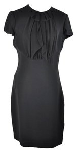 Ralph Lauren short dress Black l Collection Little Black Bow Tie Silk Mini Size 10 on Tradesy