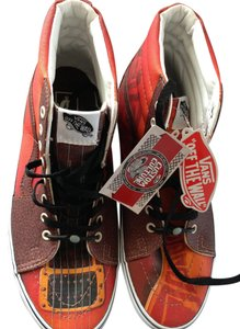 Vans Orange Athletic
