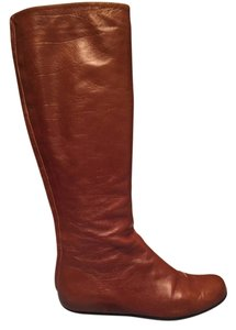 Lanvin Camel Leather Boots