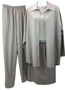 Zoran ZORAN GRAY 4-PC. SKIRT SUIT M