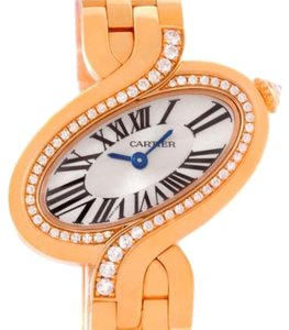 Cartier Cartier Delices 18k Rose Gold Diamond Watch WG800003