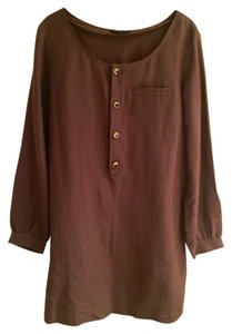 A.P.C. short dress Brown on Tradesy