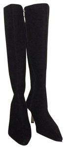 Anne Klein Boot Winter Black suede Boots