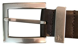 Calvin Klein Calvin Klein Brown Leather Belt