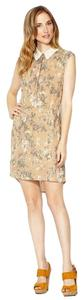 Winter Kate short dress Camouflauge Pink Print Lace Collar on Tradesy