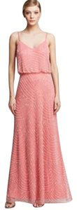 Adrianna Papell Beaded Blouson Comfortable Dress