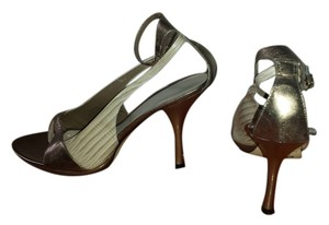 Nine West copper with beige Sandals