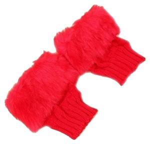 Other BRAND NEW!!! Bright Red Furry Gloves FREE SHIPPING