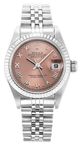 Rolex ROLEX DATEJUST 79174 STAINLESS STEEL SALMON DIAL LADIES WATCH
