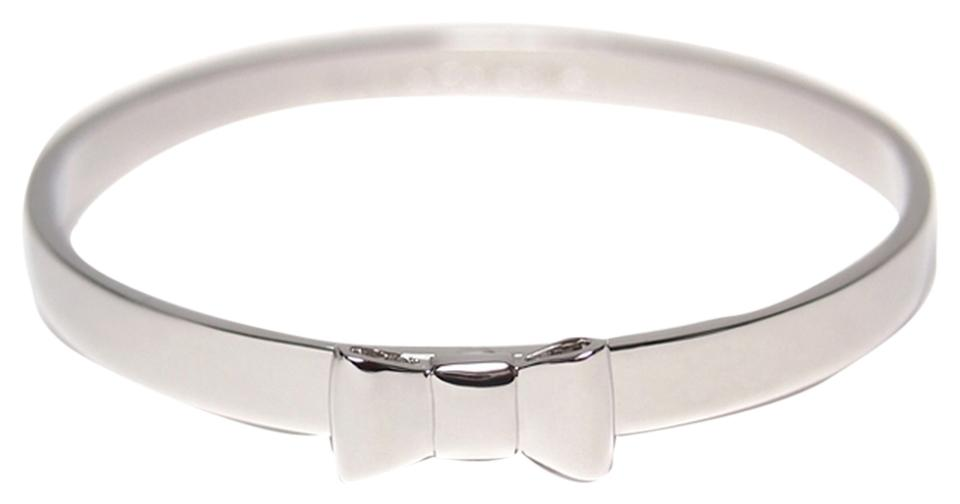 Kate Spade Take A Bow Silver Bangle