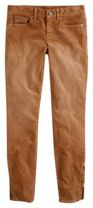 J.Crew Capri/Cropped Pants Stable Brown