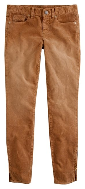 Item - Stable Brown Ankle Zip Toothpick Cord Pants Size 6 (S, 28)