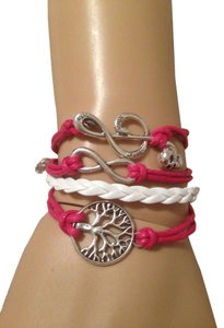 Other Infinity Metal Leather Bracelet